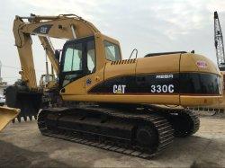 Utilizado Cat 330c excavadora de cadenas Caterpillar excavadora 30t 330b para la construcción