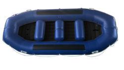 12 0.9 mm PVC 급류 카약 팽창식 뗏목으로 나르는 배를 보석을 받게 해 FT 6 사람 각자