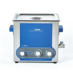 L'opération commode paillasse Intelligent nettoyeur ultrasonique de 9 L