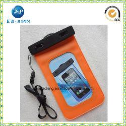 Ecológica de PVC impermeable Bolsa Teléfono Móvil (JP-WB012)