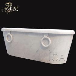 Aspecto delicado preço grossista marca Chinesa Nice mármore branco Banheira