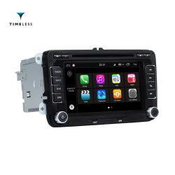 Timelesslong 2 DIN DVD de voiture pour VW avec S190 La plate-forme Android 7.1/WiFi (TID-Q305)