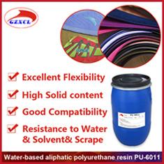 Base d'eau liant polyuréthane de haute qualité pour les textiles de l'Encre pigment et coller