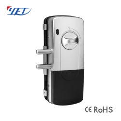 Serrure de porte en verre de sécurité à domicile avec un téléphone mobile APP CY904
