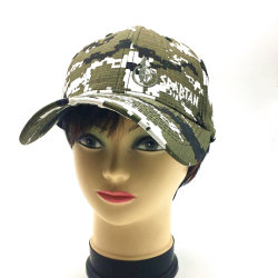 OEM Custom 100%년 Cotton 유럽과 미국 Fashion Men 및 Women Embroidery Sports Promotional Hats 일요일 Hat Camouflage Pattern Embroidered Baseball Cap