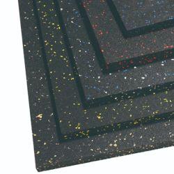 Terrain de jeux de plein air fait sur mesure de tuiles de caoutchouc / tapis de caoutchouc / plancher en caoutchouc
