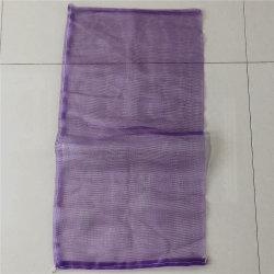 Promoção Saco de malha de polietileno de costura personalizada para o alho de embalagem
