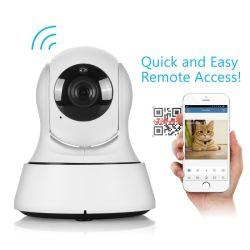 Drahtloses intelligentes Kamera-Baby Pets Monitor-Nocken Wi-FI Kamera-Sicherheits-Fernausgangs-IP-Kamera 720p HD