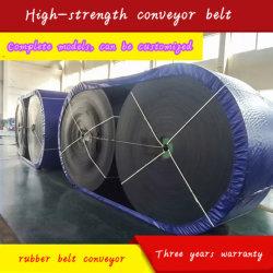 Courroie du convoyeur en nylon pour Mine de charbon, Hot Sale Wire Rope PE Convoyeur à courroie plate