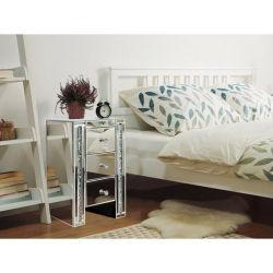 Зеркальные хрустальное стекло на прикроватном мониторе в таблице 3 выдвижной ящик для спальни