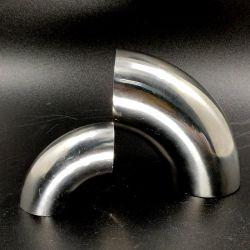 Main courante de l'escalier du raccord de tuyau en acier inoxydable Connecteur tube coudé