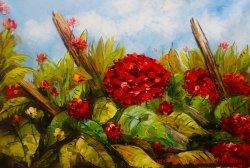 Воспроизведение цветов пейзаж холст настенные украшения картины маслом