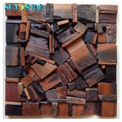 건축재료의 유일한 디자인 단단한 나무 벽 도와 호텔 훈장