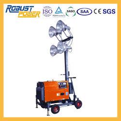 Emergency bewegliche europäische elektrische Aufsatz-Lichter des Generator-Set-5kw