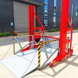 ホットセールカスタマイズモバイルオプションカラー高デューティスチール構造モバイル トラック積込み / 搬出ドックリフトプラットフォーム
