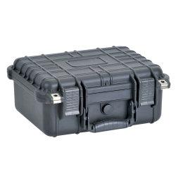 """Resistente al agua de 14"""" y a los golpes de equipos de plástico duro caso Pistola Caja de herramientas"""