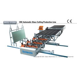 수평한 CNC 자동적인 유리제 절단 테이블 또는 기계 또는 생산 라인