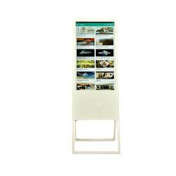 43 Zoll-Fabrik-kundenspezifischer im Freienmonitor-Kiosk-Glasbildschirm-Bekanntmachen