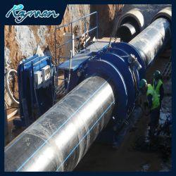 물 공급용 20mm/63mm/180mm/560mm 플라스틱 큰 직경 PE HDPE 파이프 관수/진흙 슬러리 모래 가스 오일 준설 드레드 드레드 드라이거 광산