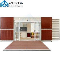 강철 금속 휴대용 조립식 가옥은 임시 사무실 Accommod 기숙사 팽창할 수 있는 이동할 수 있는 모듈 단위 오두막에 의하여 변경된 선적 컨테이너 홈 집을 조립식으로 만들었다