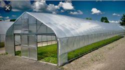 PE personalizado de gases de efecto Net Leno película de cine de mantillo agrícola de la cubierta de maleza negra