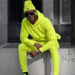 Custom Design женщин Tracksuit теплой зимой ветровку спортивный костюм гусеницы для мужчин