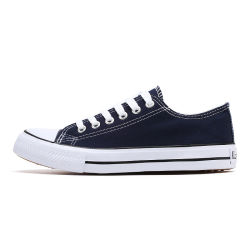 Cuatro colores unisex de moda casual vulcanizado Classic Zapatos de lona (DC20-6620)