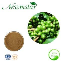 L'acido verde naturale puro di Chlorogenlc della polvere dell'estratto del chicco di caffè della fabbrica solubile in acqua