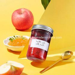 Effacer la nourriture de verre à col large vide de la confiture miel Pickle Candy Spice Bocal de stockage avec couvercle pour la cuisine