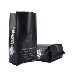Zak van de Koffie van de Ritssluiting van de Verpakking van het Voedsel van de douane de Privé Plastic