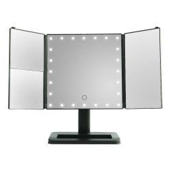 2020 جديدة يشعل مرآة يطوي ضوء مع مكثر مستحضر تجميل أدوات