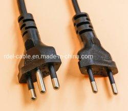 Italia Imq aprobación cable de alimentación bomba sumergible Italia 3 clavijas del cable de alimentación