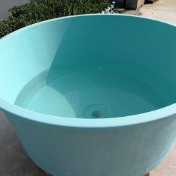 FRP GRP 섬유유리 폴리에스테 수지 플라스틱 화학 수족관 도매 기름 물 저장 양어법 탱크