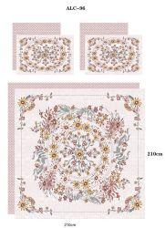 Nouveau design d'impression actif Home Textile Ensemble de literie à bas prix