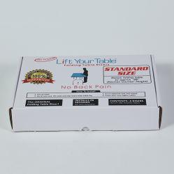 Logo personnalisé bulle métallique rembourré enveloppes rouges à lèvres Lipgloss Paper Box pour les vacances