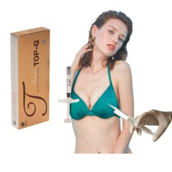 حقن الثدي بحقن الحشو الجلدي عالي الجودة سعة 10 مل مع محقنة حمض الهالوك
