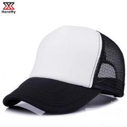 Unbelegte Schaumgummi-Ineinander greifen-Fernlastfahrer-Baseballmütze-Sport-Großhandelshüte