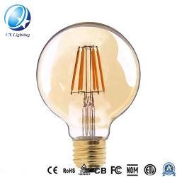 Lámparas LED G125 con la letra palabra hola amor Home sueño dentro de 4W 2200K claro Cristal Oro regulable&