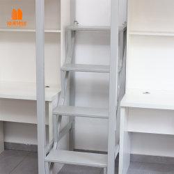 Mobilier d'école ou de dortoir en acier, mobilier d'école avec boîte de rangement.
