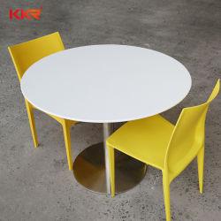 가정용 가구 테이블 식당 가구 대리석 아크릴 솔리드 표면 원 테이블 탑 디너 테이블