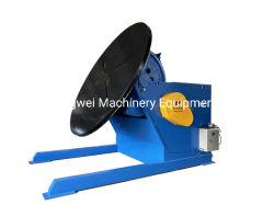 Bride de tuyau en acier du tube automatique la circonférence du positionneur de soudage