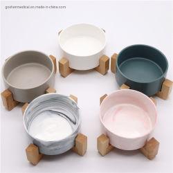熱い販売の陶磁器のペットフード水ボールの容易できれいな飼い犬猫の送り装置ペットボール