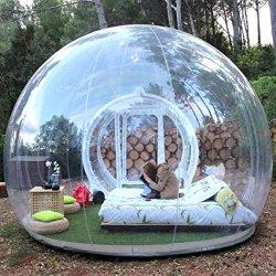 خيمة سقف شفافة قابلة للنفخ خيمة تخييم خارجية للأطفال و مرح البالغين