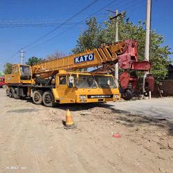 上海中国の正直な製造者からのよい状態元の日本の使用されるか、または中古のKato 50t/55t/150t/25t/30tの荒い地勢クレーン