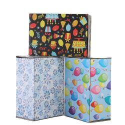 중국 도매 화물 박스 골판지 화물 박스 주문 로고를 가진 로고에 의하여 인쇄되는 판지 화물 박스