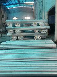 주문 Alumnium 밀어남 공장 알루미늄 합금은 산업 기계로 가공을%s 로드 & 바, 납작하게 또는 둥글었던 또는 장방형 또는 육 모양 내밀었다