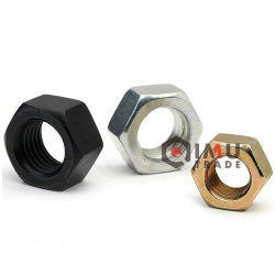 도금되는 DIN934 ISO4032 M3-M72 탄소 강철 육 견과 아연