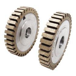 قطع العجلة الماسية المقسمة إلى أجزاء طرفية عجلة تجليخ ماسية للزجاج
