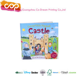 Hot Sale d'impression professionnelle de couleur fantaisie enfants livre pop-up