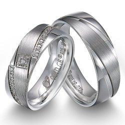 La moda de 92,5% de los anillos de dedo de plata Anillos de Hombre Mujer